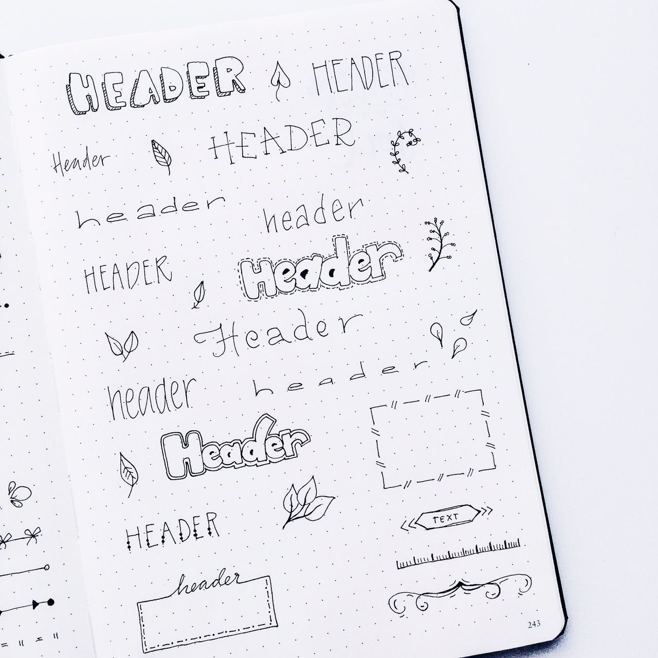 Inspiration For Your Bullet Journal