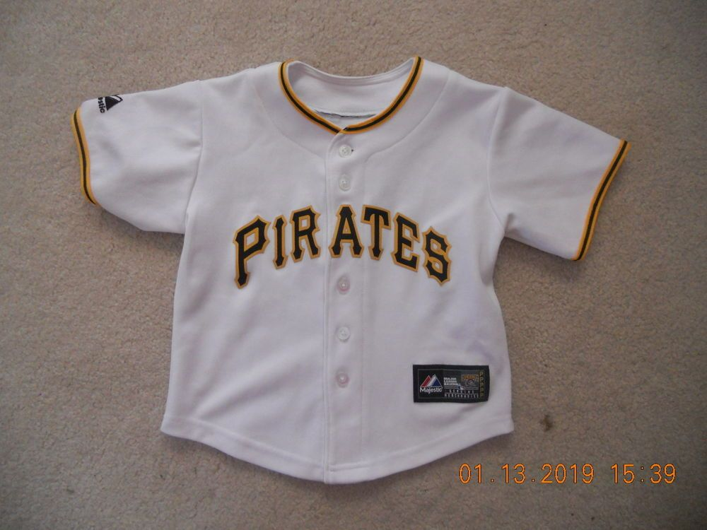 separation shoes cf7d2 a3986 Pittsburgh Pirates MLB Baseball Jersey Home White Infant ...