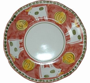 Vietri C&agna Mucca (Cow) Dinner Plate  sc 1 st  Pinterest & Vietri Campagna Mucca (Cow) Dinner Plate | Red | Pinterest ...