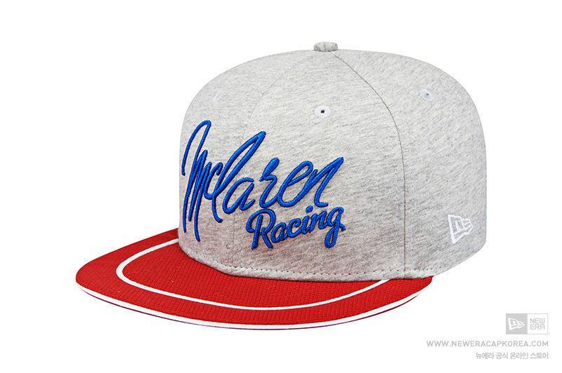 New Era 9Fifty McLaren Racing 50 Years Jersey Grey Baseball Cap Snapback  Limited  NewEra  BaseballCap 6b8369d313f7
