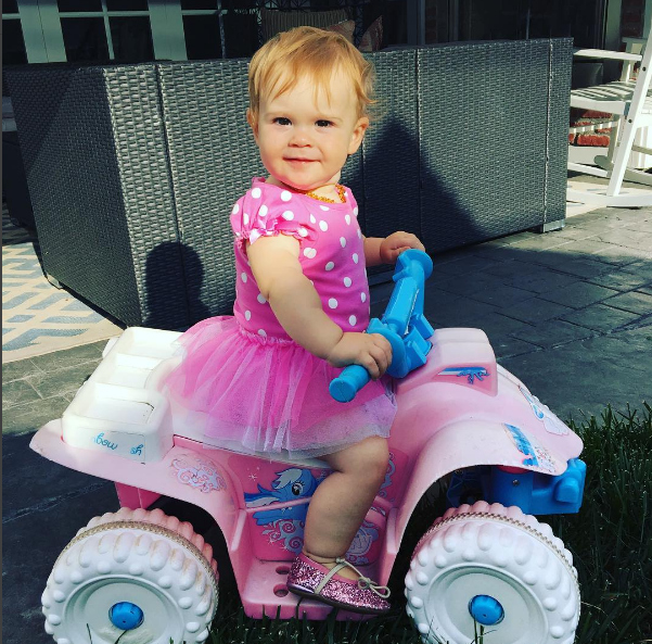 Jack Osbourne's Daughter Andy Turns 1 (With images) Jack