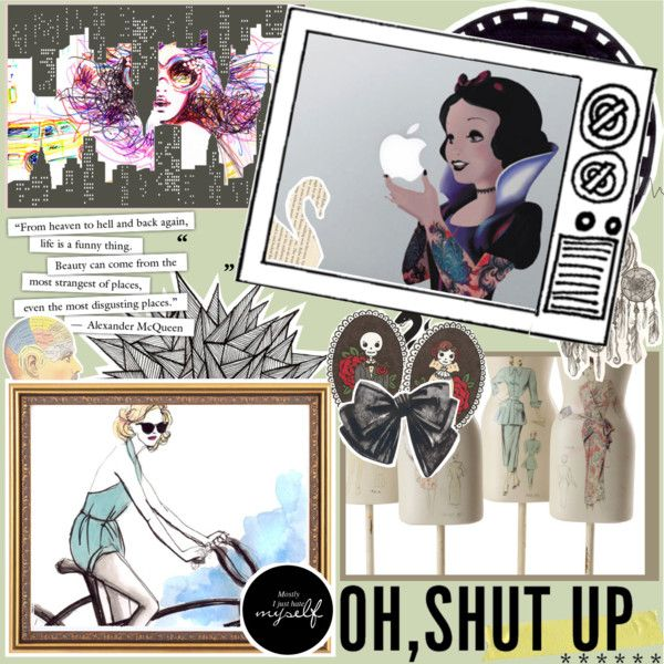 """""""Shut Up While I'm Being Awesome"""" by fashionistacity on Polyvore"""