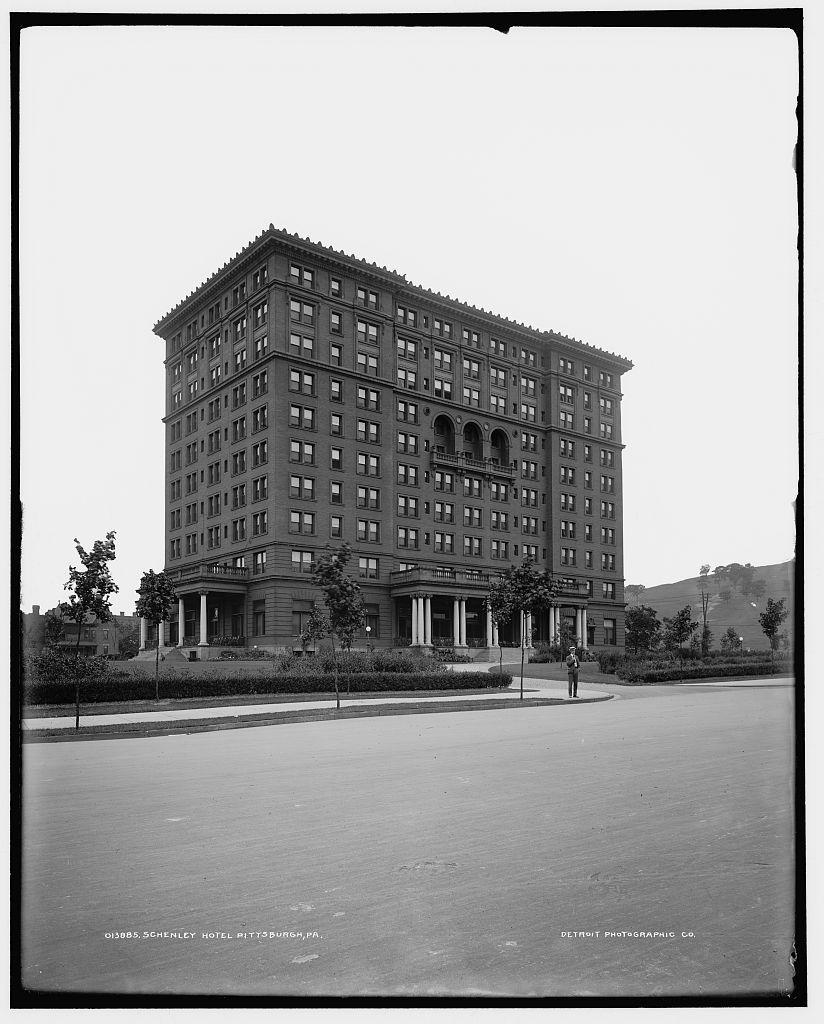 Schenley Hotel Pittsburgh Pa Circa 1903 Now It S Pitt Student Union