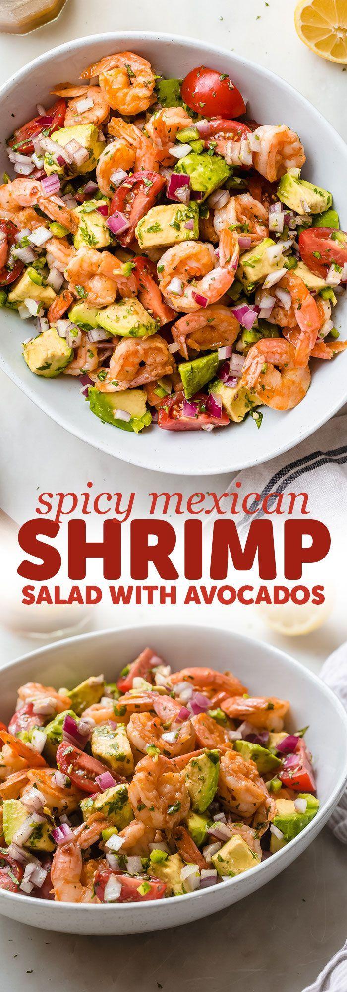 Spicy Mexican Shrimp Salad Recipe   Little Spice Jar