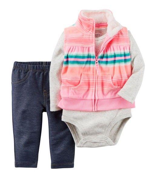 fd21970a0 CARTERS - Little Vest Set - 9 meses