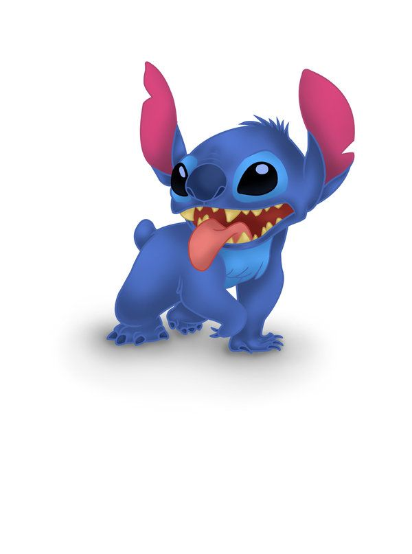 Stitch. I absolutely love this guy.