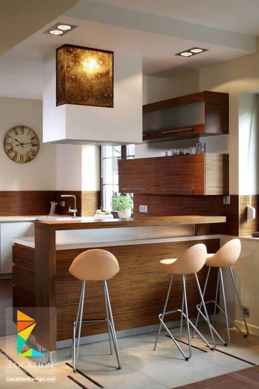 بالصور أفكار وتصميمات مطابخ مودرن صغيرة المساحة 2018 2019 لوكشين ديزين نت Interior Design Kitchen Kitchen Design Small Tiny Kitchen Design