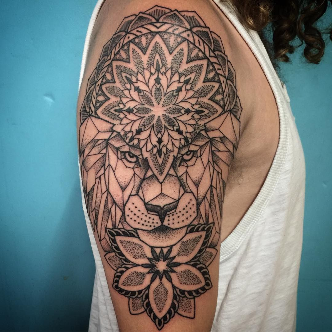 Best Tattoo Geometric Lion Patterns Ideas Geometric Lion Tattoo Geometric Lion Lion Tattoo