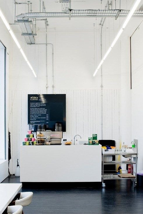 The Stark Minimalism Of All That Is Solid Cafe And Concept Store In Glasgow  Also Corrugated