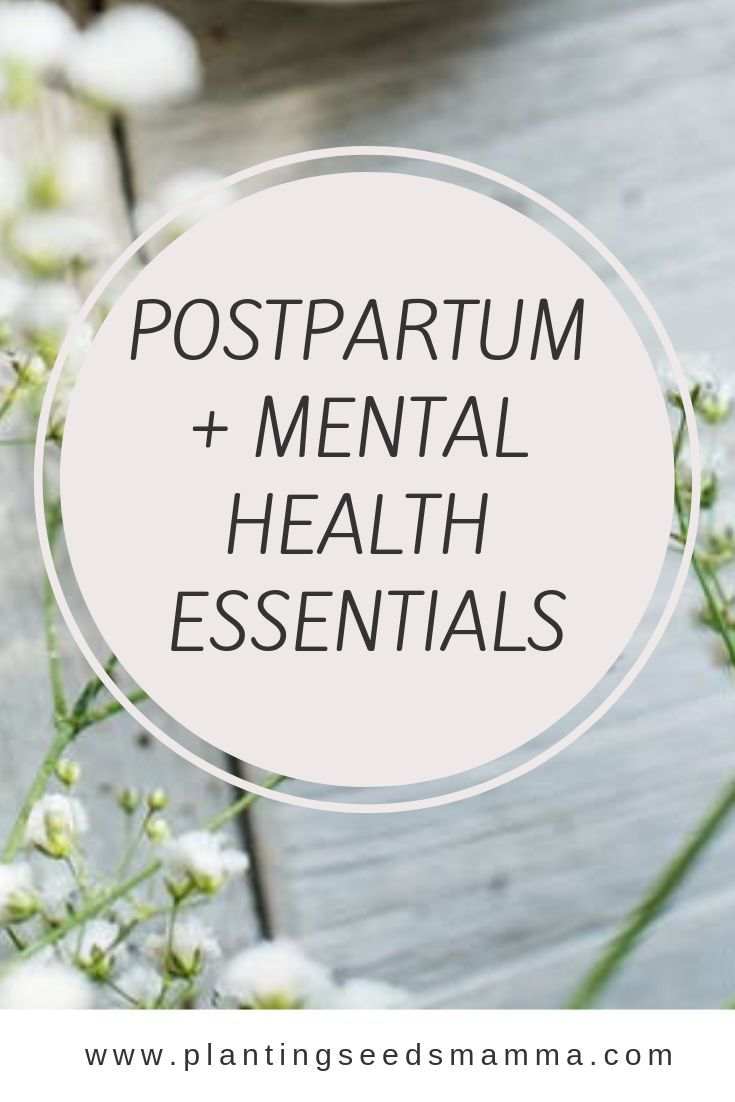 POSTPARTUM + MENTAL HEALTH ESSENTIALS Becoming a mom can be a huge adjustment. Click through to get my postpartum and mental health essentials!
