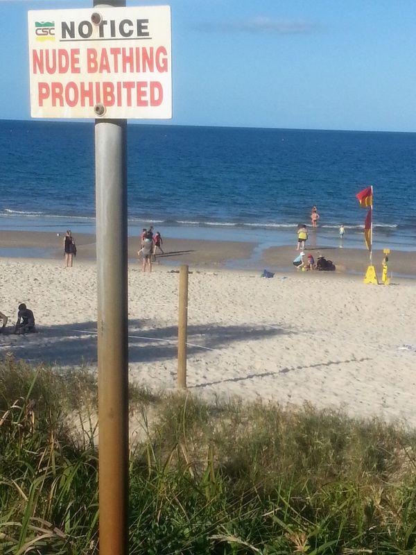 pic Nude beach australia
