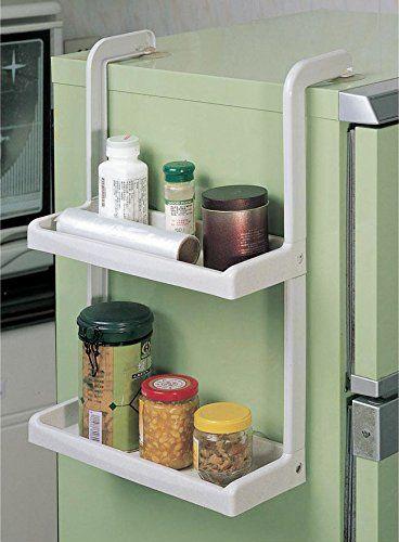 Honla Kitchen Refrigerator Wall Mountable Hanging Plastic