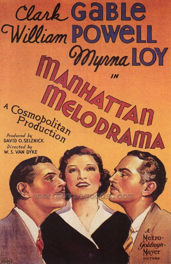 "CAST: Clark Gable, William Powell, Myrna Loy, Leo Carrillo; DIRECTED BY: W.S. Van Dyke, George Cukor; Features: - 27"" x 40"" - Packaged with care - ships in sturdy reinforced packing material - Made in"