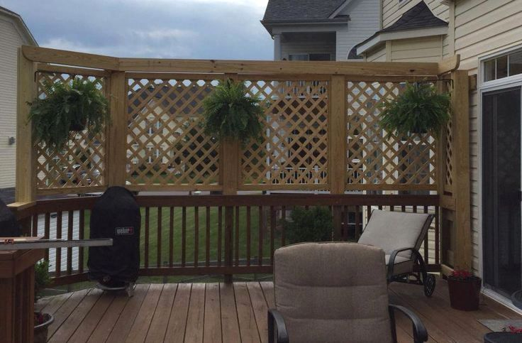 small deck ideas for mobile homes...Just because you have