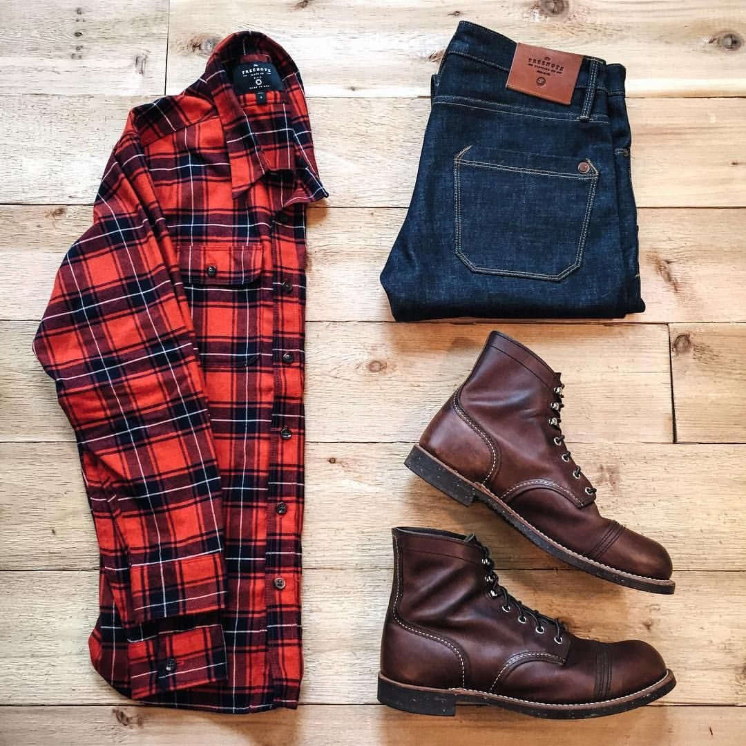 Big flannel outfits  See this Instagram photo by lahmansbeard u  likes  giyimm