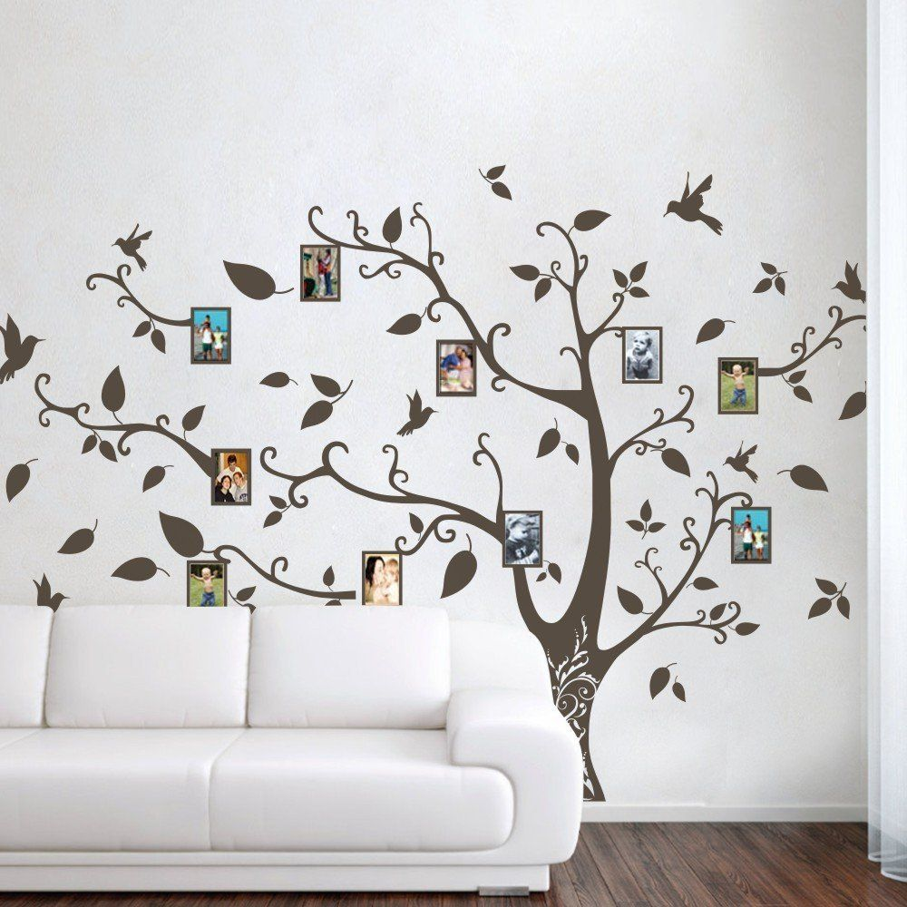 Mairgwall Photo Frame Family Tree Wall Decals Wall Stickers Family