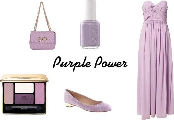 """Purple Power"" by avanburen on Polyvore"