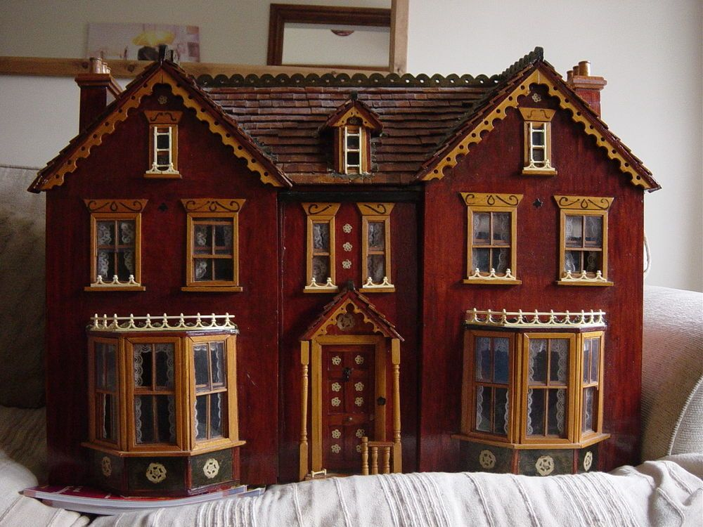 Hand Crafted Victorian Dolls House Doll Houses Pinterest Dolls