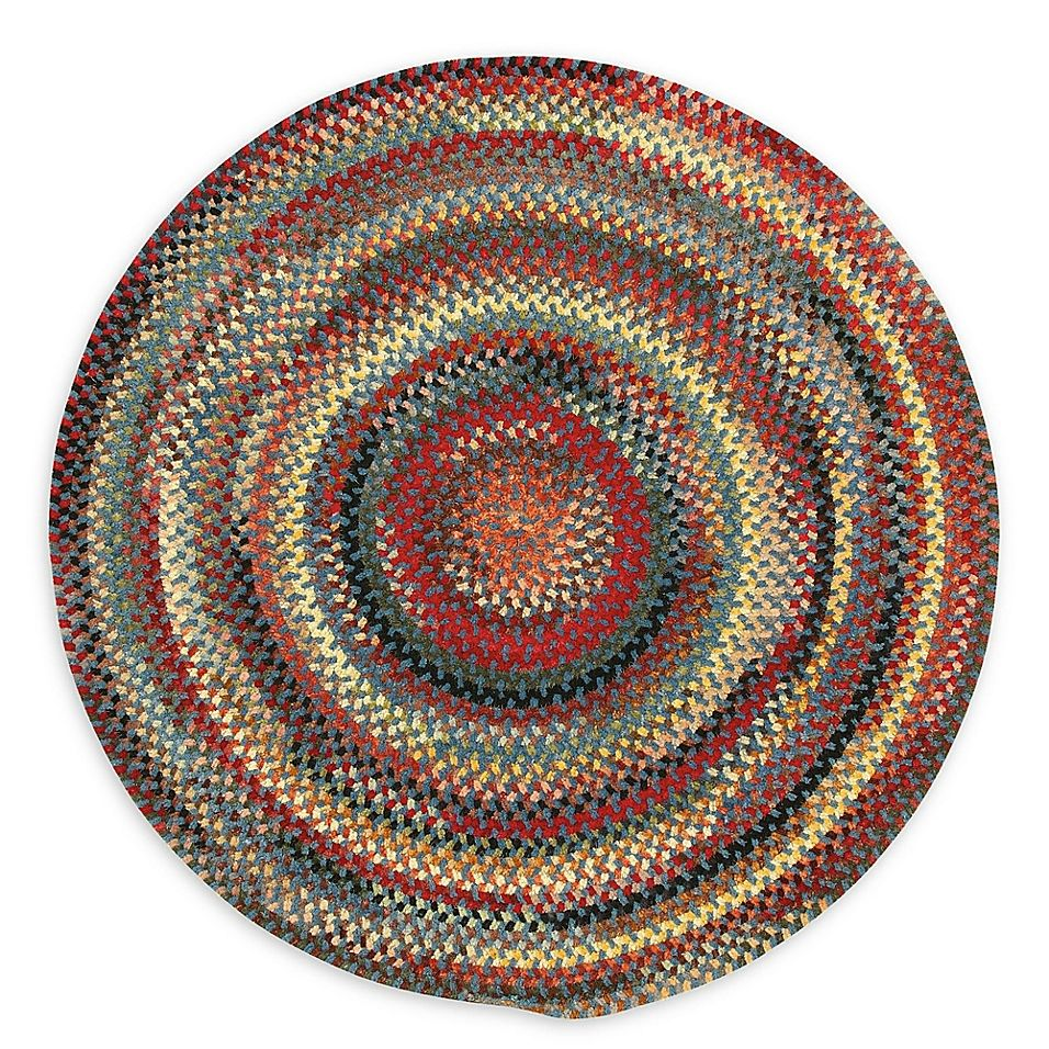 Capel Rugs Eaton Braided 8 6 Round Rug