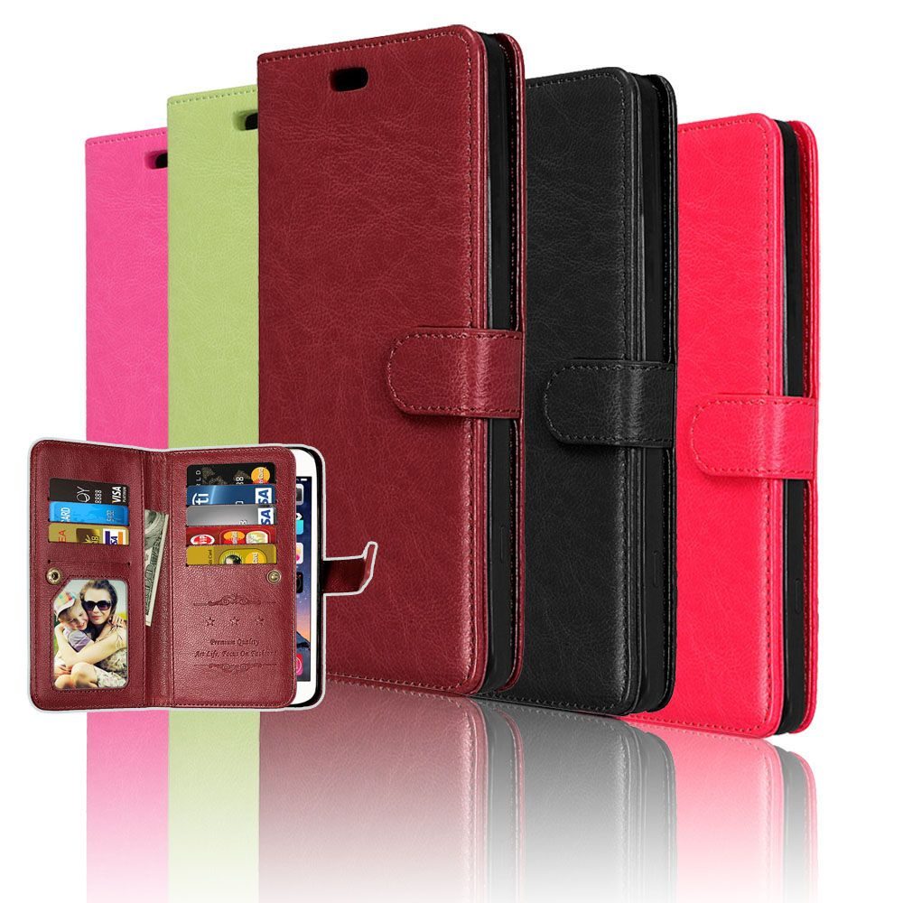 For Samsung Galaxy J2 Prime Cover Luxury PU Leather For