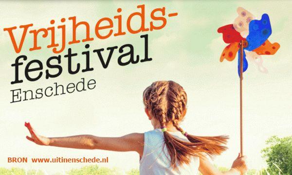 5 Mei Vrijheidsfestival Enschede De Winkeliers In De