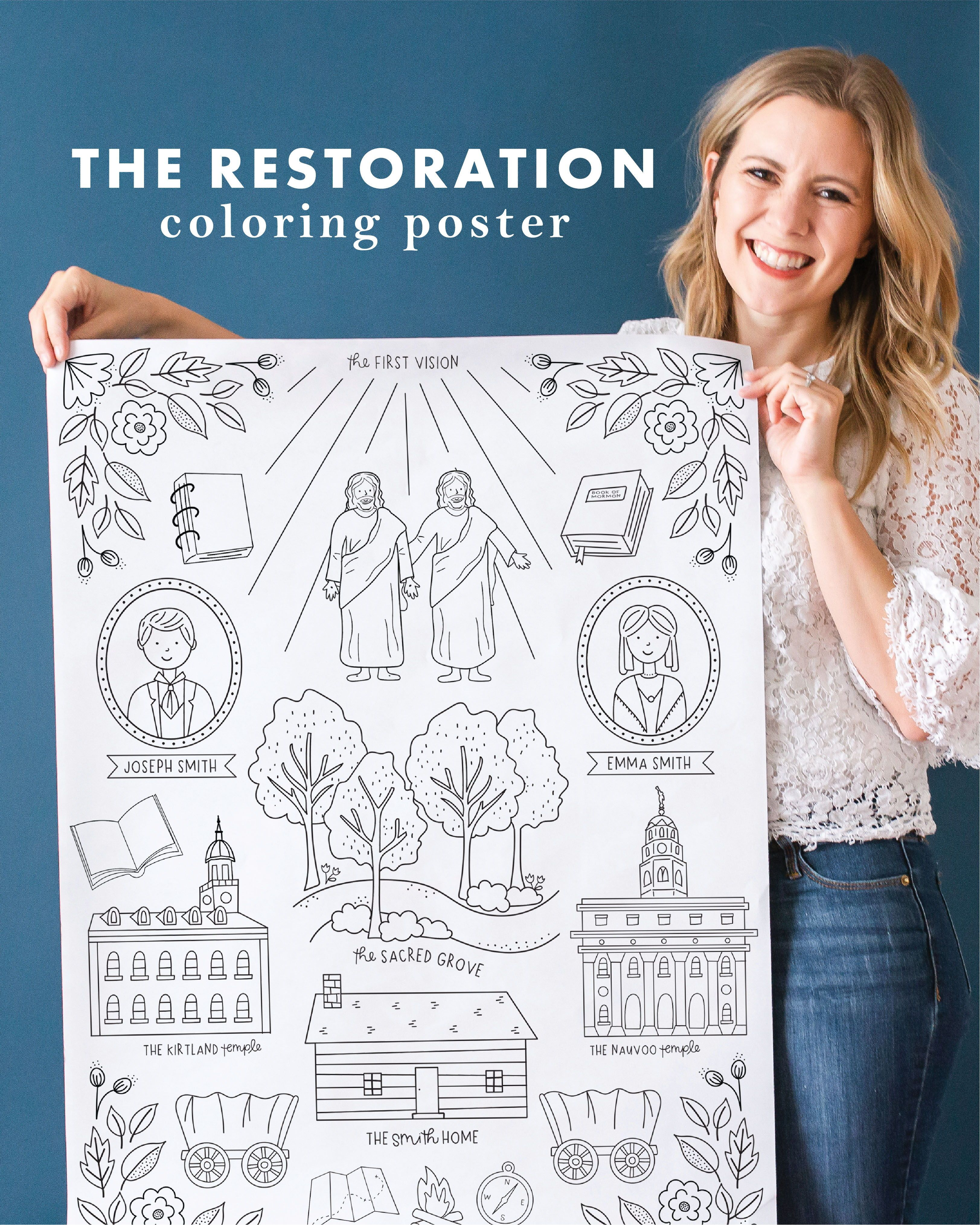 The Restoration Bicentennial General Conference Coloring Pages General Conference Activities Funniest Valentines Cards General Conference