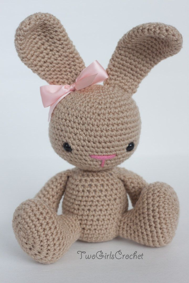 Crochet Bunny Amigurumi Toy (Sprinkles) - Made to Order by ...