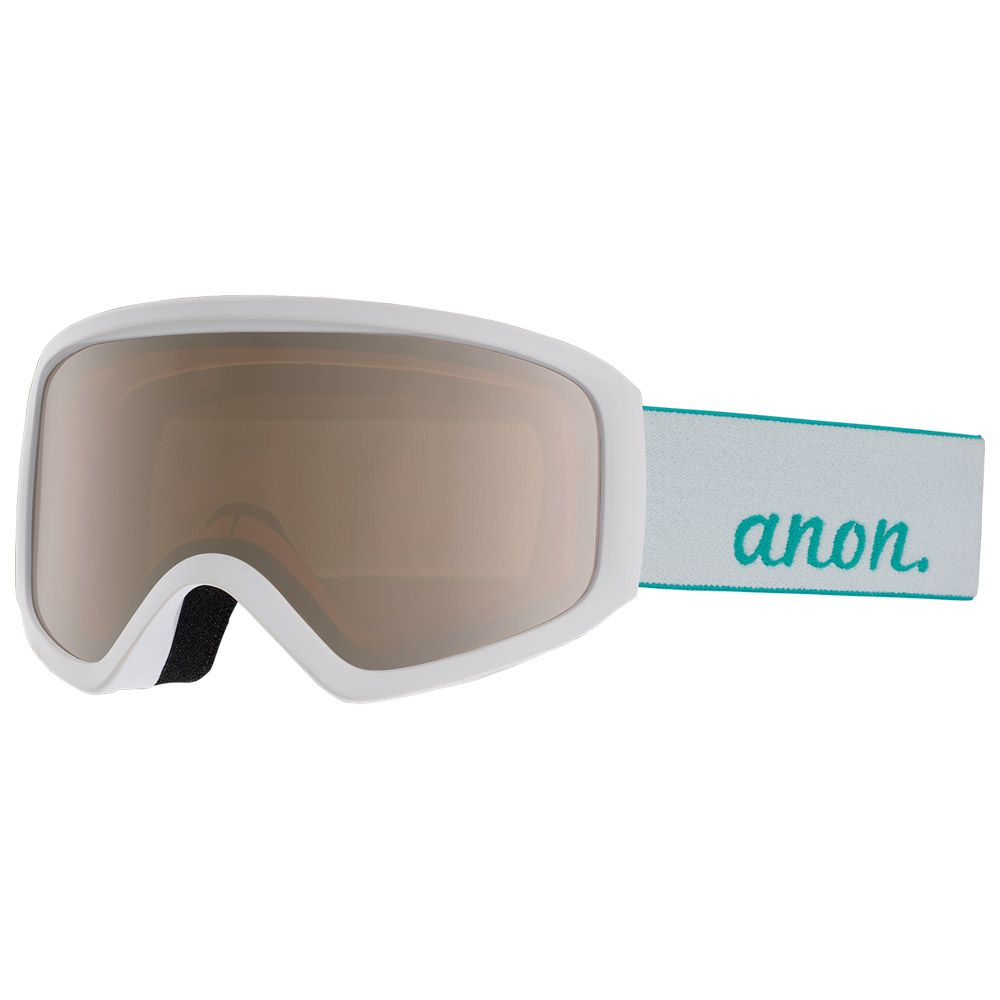 Masque de ski Insight White Silver Amber + Amber | MATOS