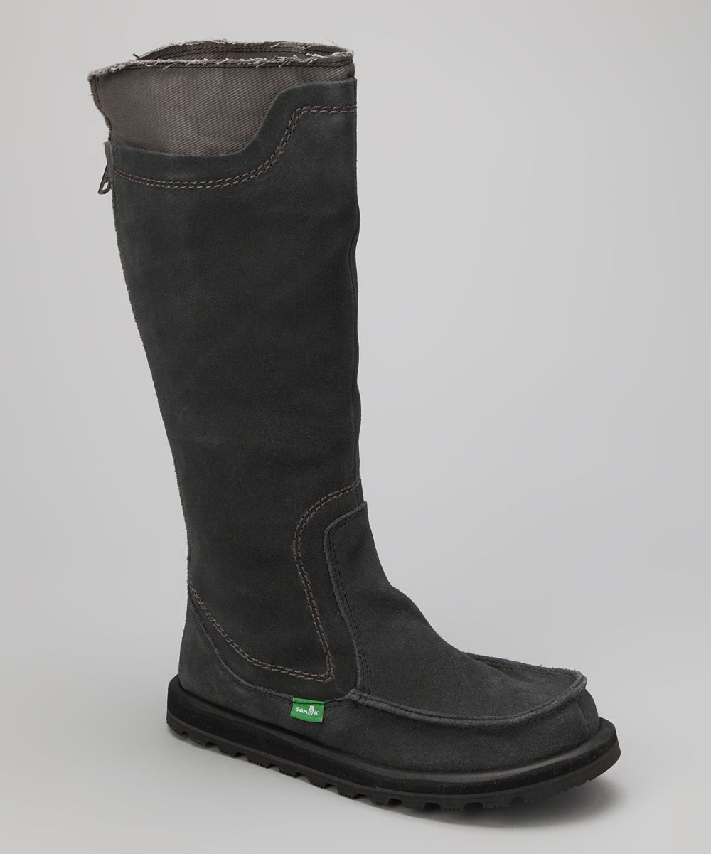 Take a look at this Black Torrey Boot - Women by Sanuk on today!