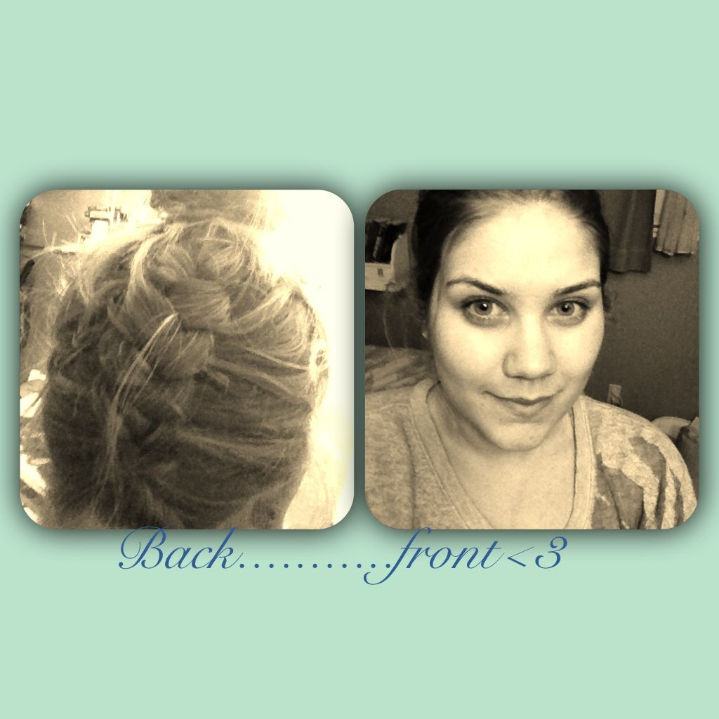 My hair today I am so proud!!!:)
