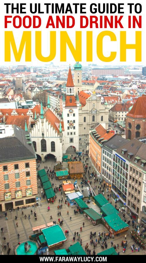 The Ultimate Guide to Eating and Drinking Your Way Around Munich, Bavaria, Germany. This guide to traditional Bavarian cuisine covers where and what to eat during your foodie escape to Munich! Heads up: there's a whole lot of beer and bratwurst involved. Click through to read more...
