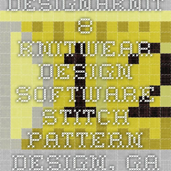 DesignaKnit 8 - Knitwear design software. Stitch pattern ...