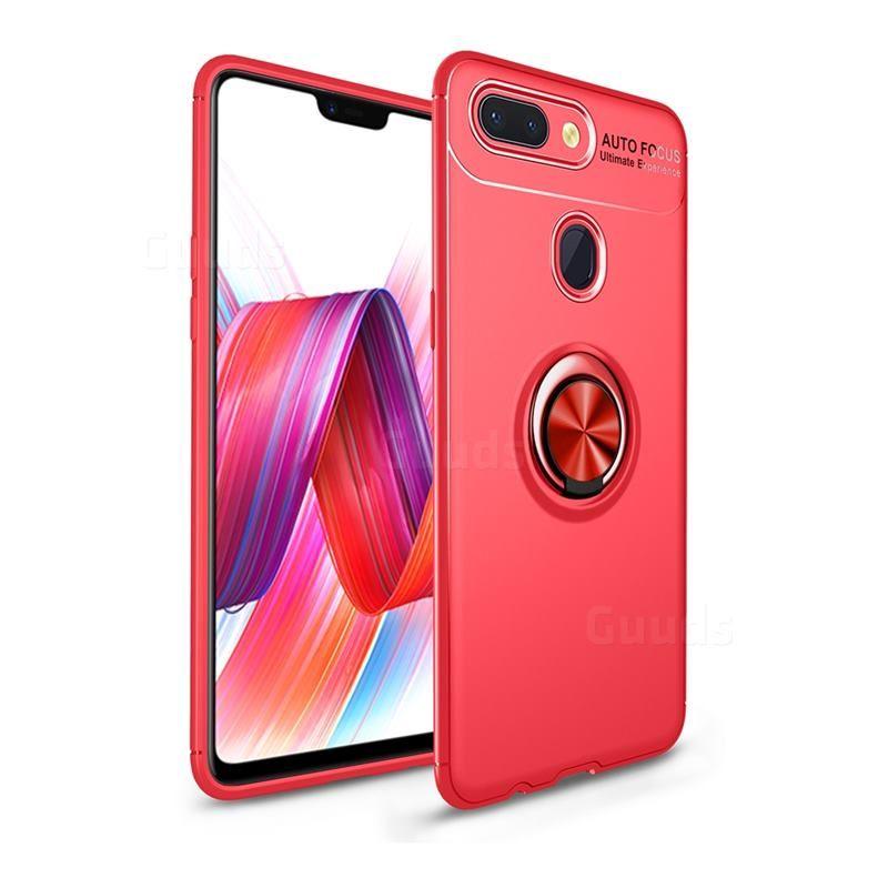 Auto Focus Invisible Ring Holder Soft Phone Case For Xiaomi Mi 8 Lite Mi 8 Youth Mi 8x Red Xiaomi Mi 8 Lite Cases Guuds Phone Phone Cases Xiaomi