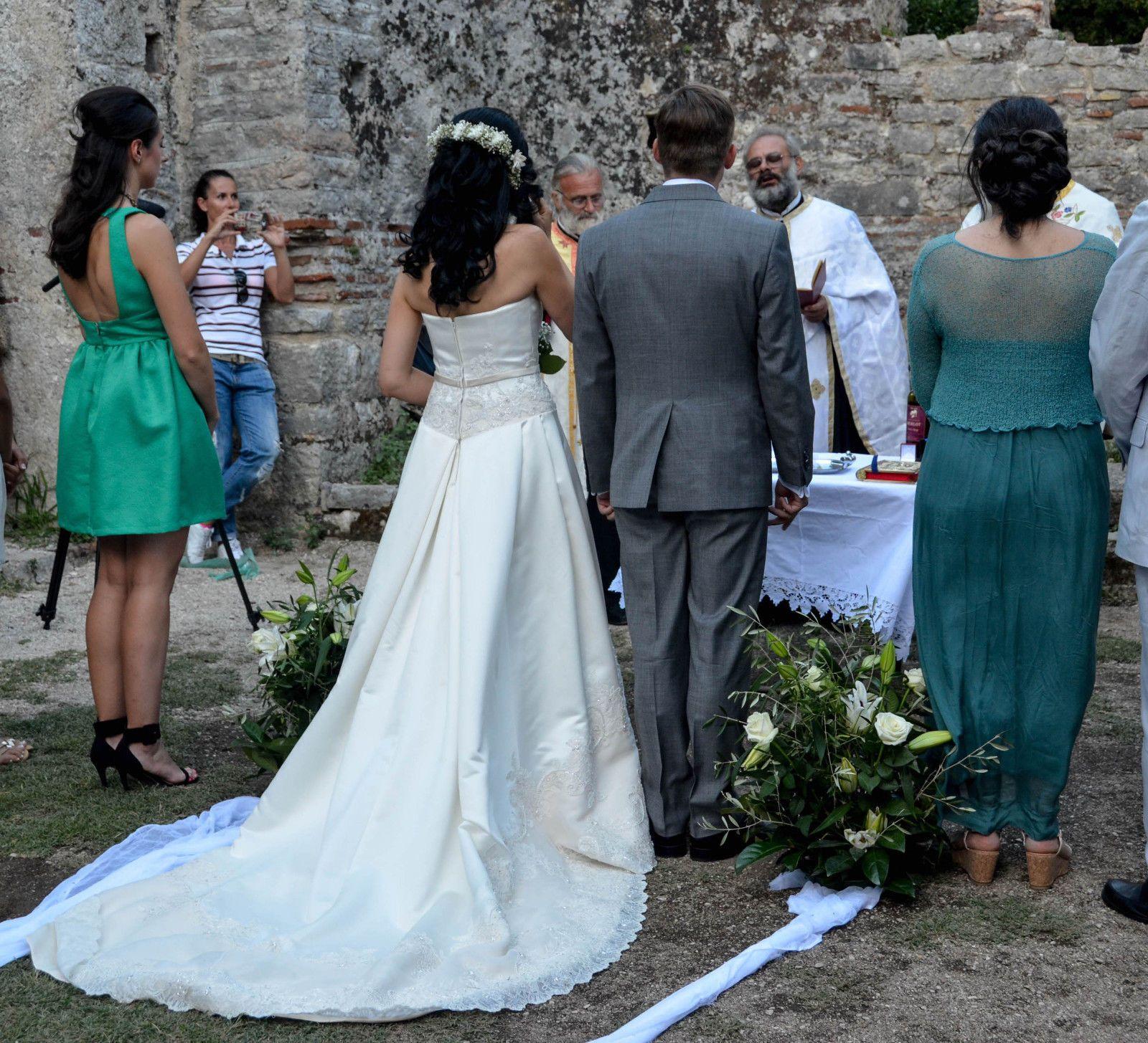 Nice awesome silk satin casablanca wedding dress for sale