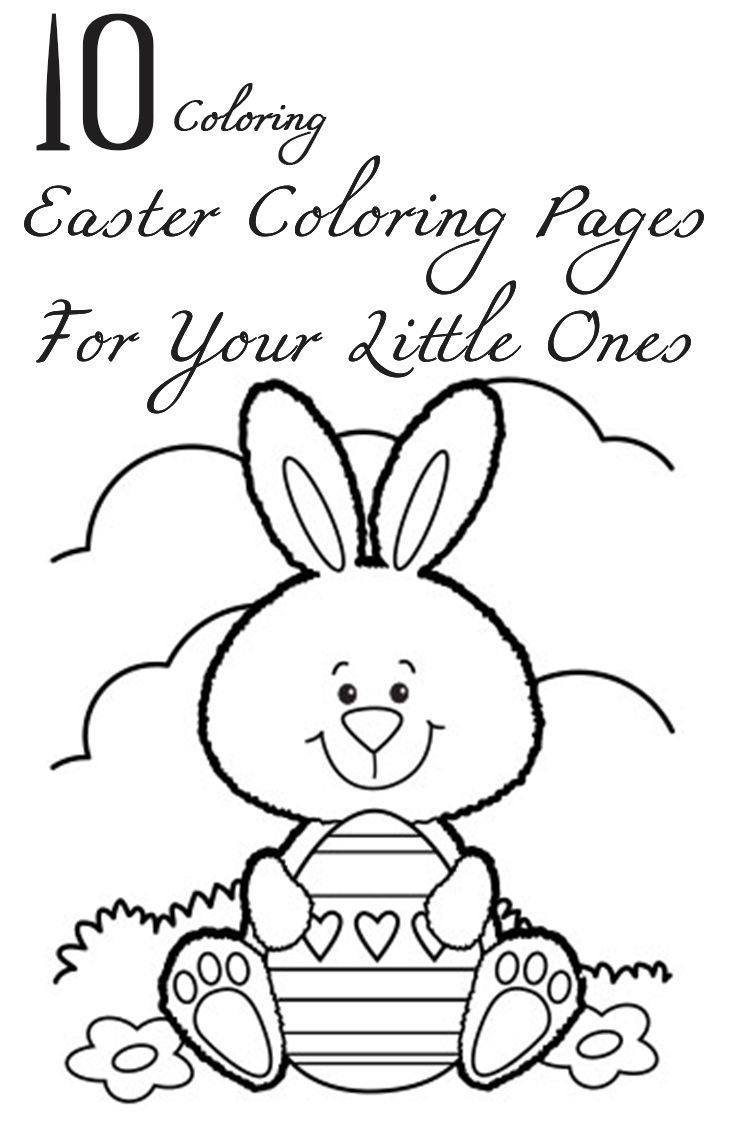 Top 25 Free Printable Easter Coloring