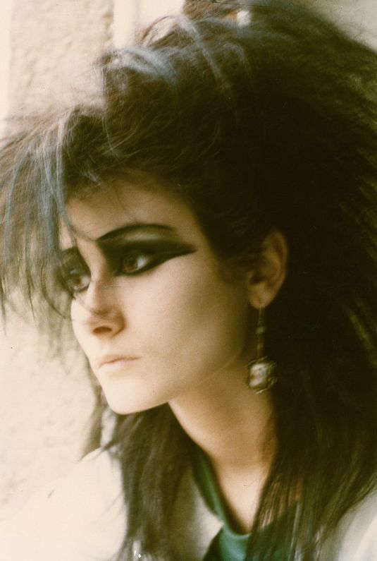 result 80s goth makeup
