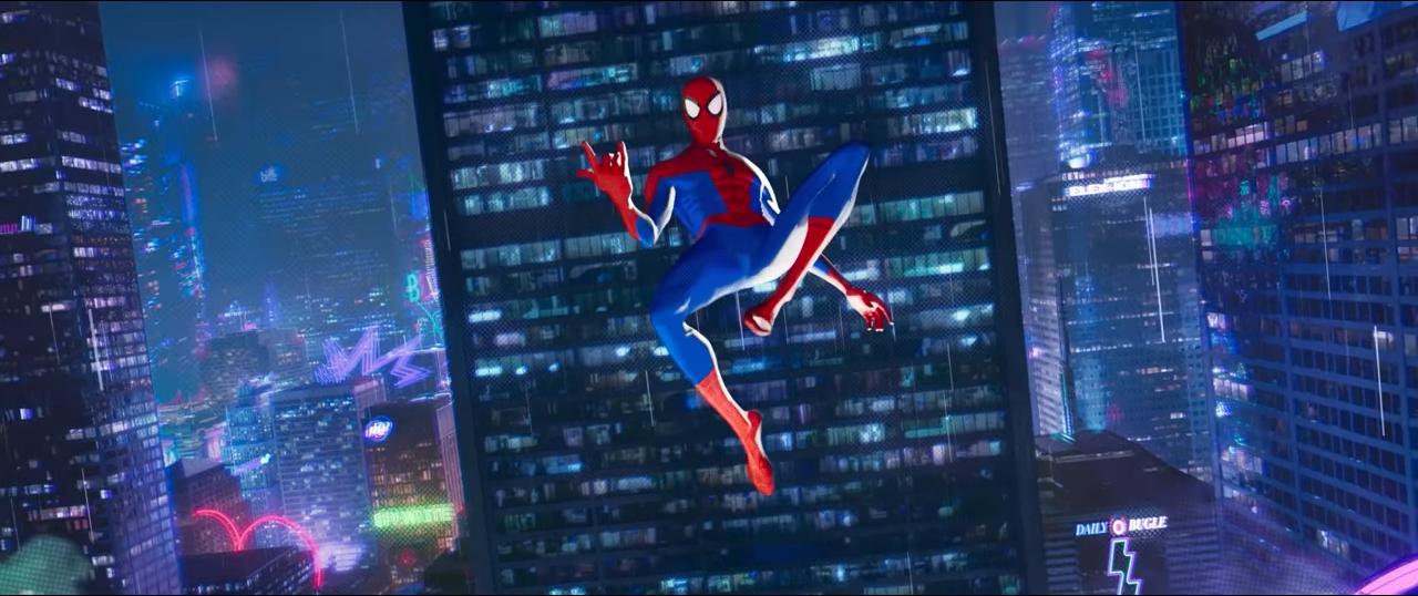 Spiderman Into The Spiderverse Screencap Film Color Cinematography Filmstills Spider Verse Spiderman Art Spiderman
