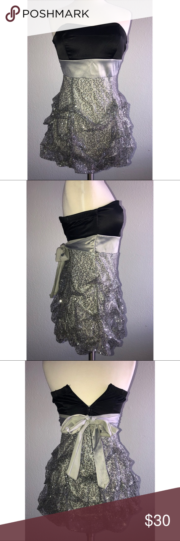 Ruby Rox Party Dress Dieses Kleid wurde nur einmal für eine Weihnachtsfeier getragen. Die Kleider …   – My Posh Closet