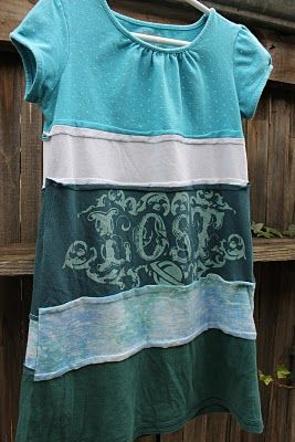 Photo of Upcycled T Shirt Dress