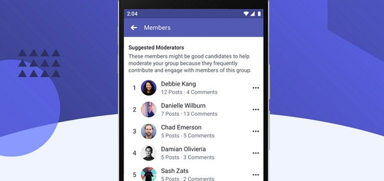Facebook Is Rolling Out A New Suggested Moderator Tool Which Will Identify Key Members Of Your Groups Who C Social Media Expert Social Media Online Marketing