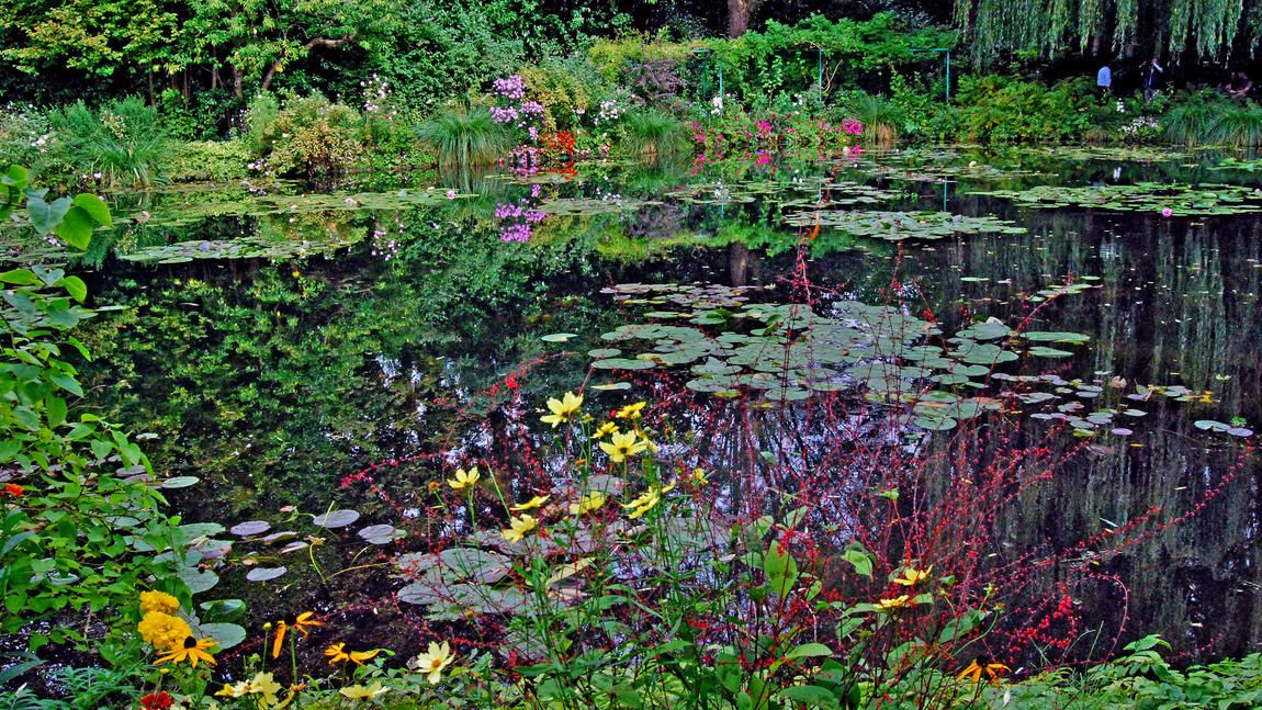 Claude Monet Would Sit For Hours On The Benches Here At The Lily
