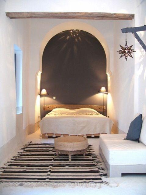 Morocco | Υπνοδωμάτια | Chambre marocaine, Déco marocaine et Maison rurale