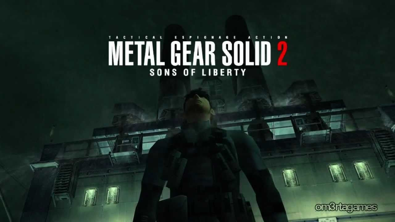 Metal Gear Solid 2 Hd Tanker Mission Opening Metal Gear Solid