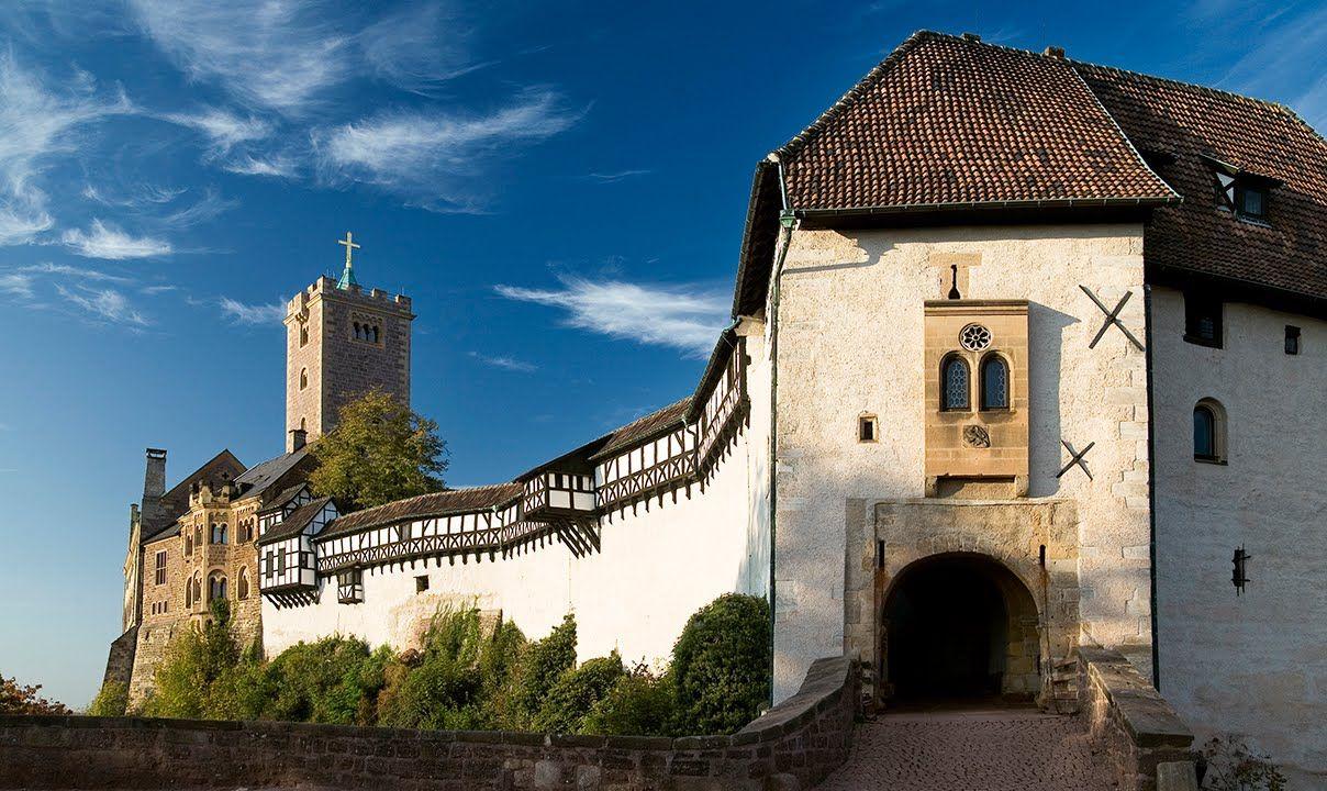 Welterberegion Wartburg Hainich Eisenach Thuringen Burg