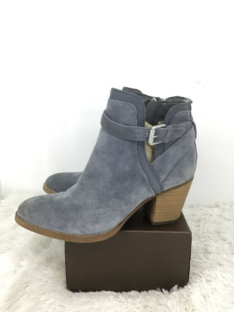 3eeae3668fbed7 Sam Edelman Women Maurine Suede Bootie  Size 7.5 M  Stone Blue     fashion   clothing  shoes  accessories  womensshoes  boots (ebay link)