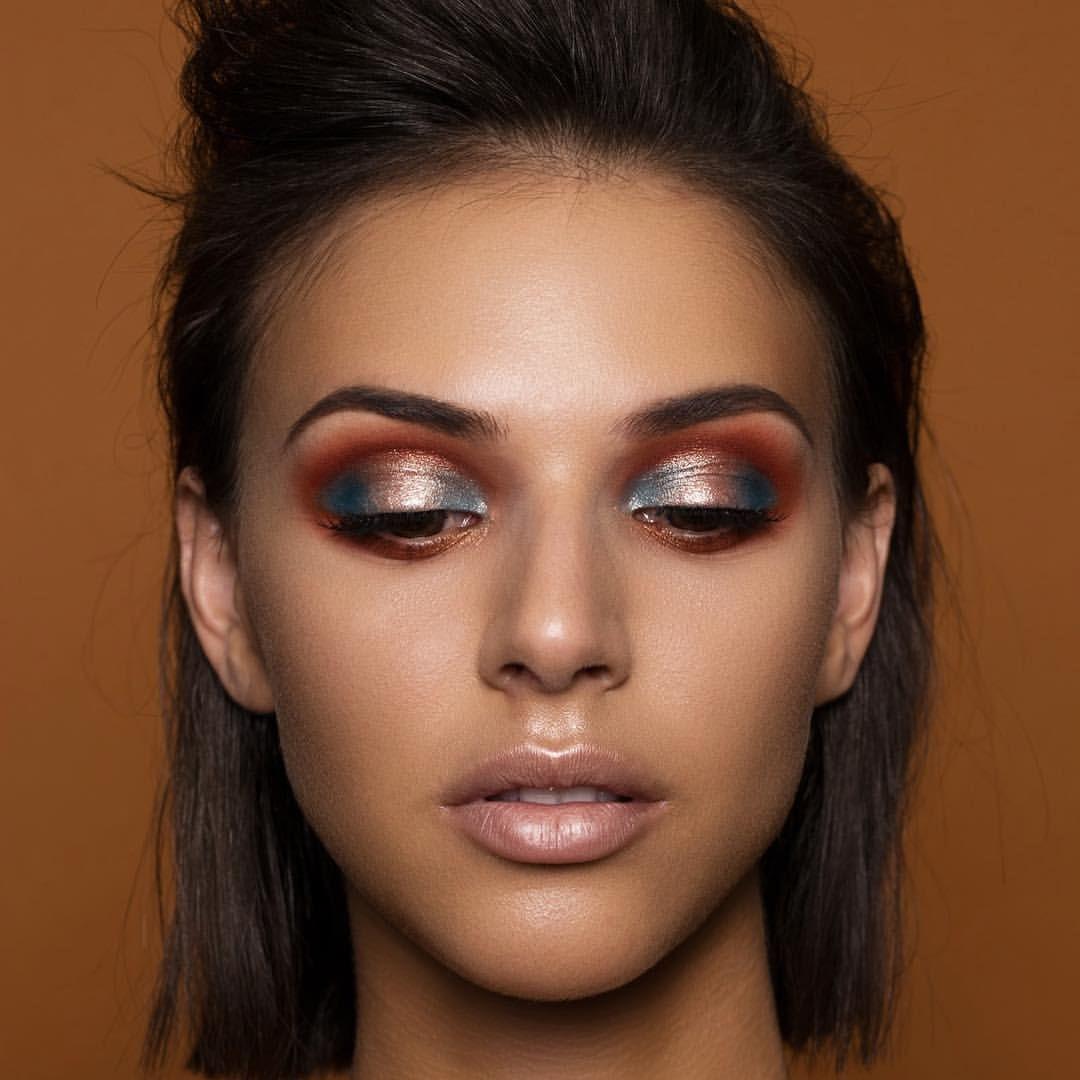 "Natasha Denona on Instagram: ""AERIS. #MakeupByNatashaDenona #aeris #eyeshadowpalette #makeup @dvirka2 @talupfal_art @boazozeri"""