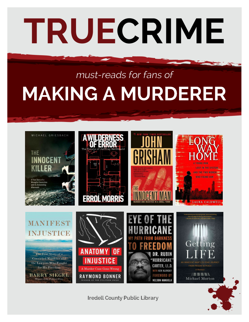 True Crime For Making A Murderer Fans Your Next Library Read