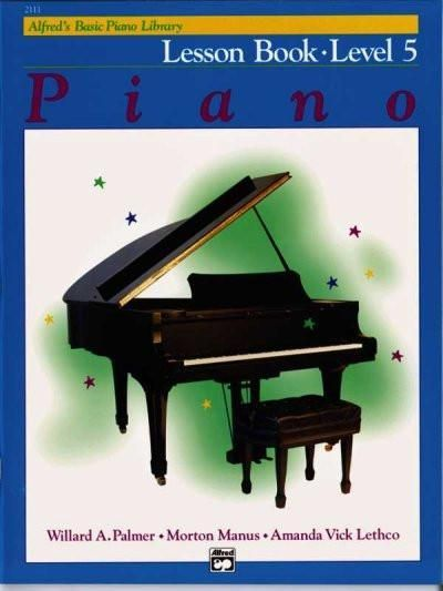 Alfred S Basic Piano Library Piano Lesson Book Level 5 Alfred S