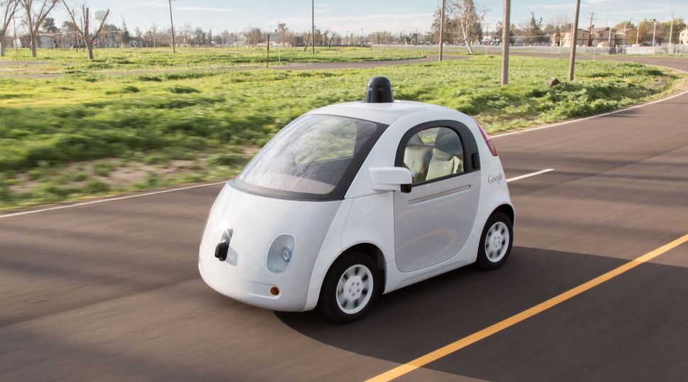 구글이 개발중인 자율주행차. 구글 제공