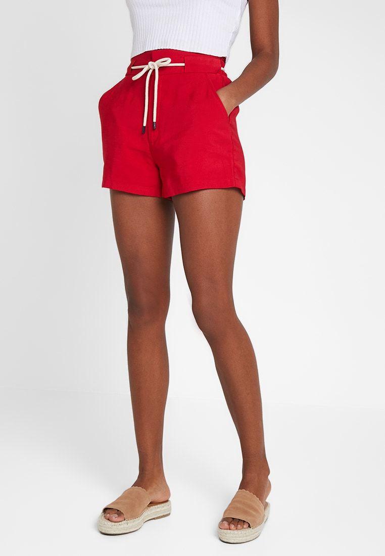 Korte Broek Dames Zalando.Shorts Red Zalando Nl In 2019 Pring Summer 2019 Shorts